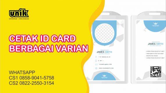 Cetak Id Card Harga Murah Jogja